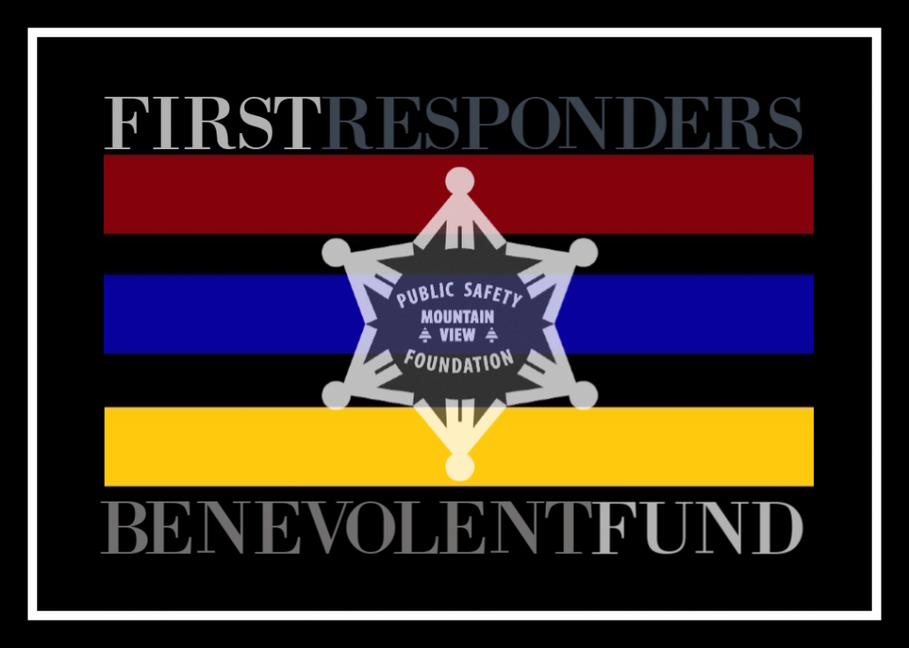 First Responder's Benevolent Fund and flag